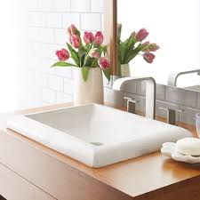 Stone Bathroom Sinks by Montecito Drop In Bathroom Sink Native Trails
