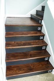 Laminate Flooring For Steps Learn How To Number Your Wood Stairs The Easy Way Designer