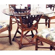 Hospitality Rattan Dining Room Tables HomeClick - Rattan dining room set