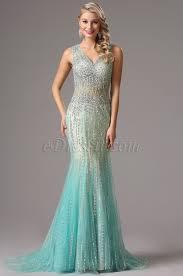 sparkling beaded light blue prom dress evening dress 36160405