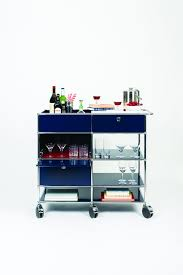 3 colourful custom bar carts from usm my warehouse home