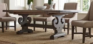 pottery barn farmhouse table uncategorized best wood for dining room table with imposing