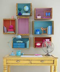rangement livre chambre 1001 idées pour fabriquer une étagère en cagette soi même