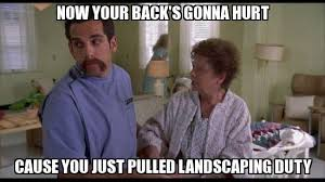 Happy Gilmore Meme - your back s gonna hurt happy gilmore 1996 movie quotes