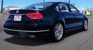 volkswagen passat r line blue 2016 volkswagen passat v6 sel r line gta5 mods com