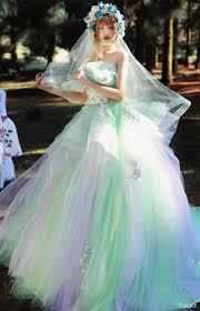 multi color wedding dress tiglily 2016 wedding dresses collection of pandora