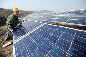 why is it to solar panels energy china will lead world away from fossil fuels time