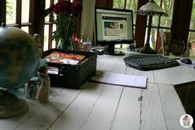 Pottery Barn Desks Rustic Office Desk Pottery Barn Style Hoosier Homemade