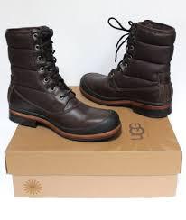 ugg 1002073 men hamric leather cold weather waterproof sheepskin