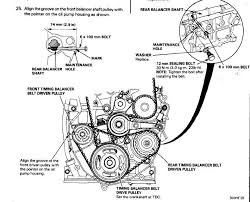 1998 honda accord timing belt replacement write up how to h22 h22a h series camshaft install search