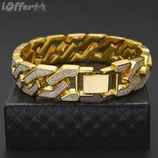 bracelet diamond men images Men 39 s jewelry gold silver chain diamond bracelet bangle for sale jpg