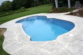 Pictures Of Inground Pools by Freeport Medium Fiberglass Inground Viking Swimming Pool