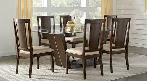 espresso dining room set wood dining room sets cherry espresso mahogany brown etc