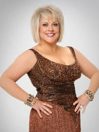 nancy grace denies obvious nip slip on dancing with the stars