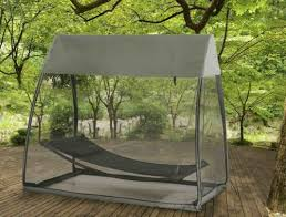 Swing Bed With Canopy Hammock Tented Covered Outdoor Swing Bed Hanging Tent Patio