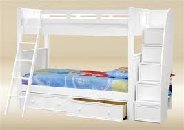 White Bunk Bed With Stairs Best 25 Bunk Bed Ladder Ideas On Pinterest Bunk Bed Mattress