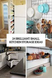 Kitchen Food Storage Ideas by 24 Creative Small Kitchen Storage Ideas Shelterness