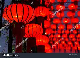 lantern new year new year paper lantern stock photo 374304667