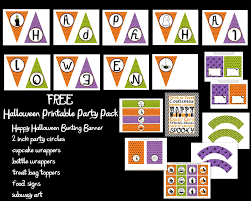 so cute parties halloween party printables