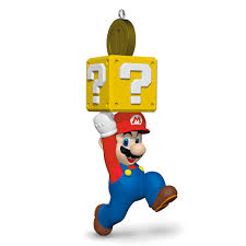 Hallmark Halloween Ornaments by Super Mario Bros Mario 2017 Hallmark Keepsake Christmas Ornament