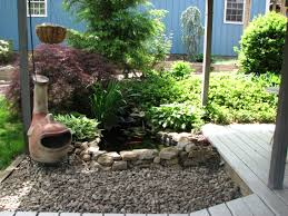 exteriors small fish pond ideas with backyard garden pond small