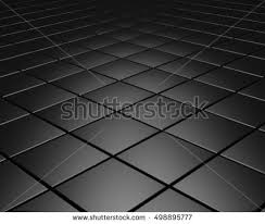 abstract background glossy floor tiles 3d stock illustration