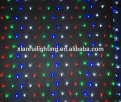 garden wedding led decorative ceiling net lights multicolor
