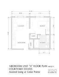 cedar pointe floor plan courtyard estates