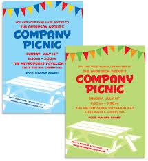 theme invitations picnic theme invitation