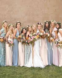 soft pink bridesmaid dresses amanda s bridesmaids wore gowns from amsale and reformation in