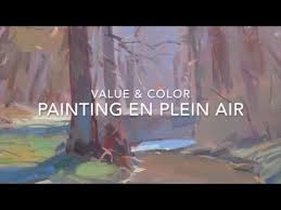 troy kilgore plein air painting judging values and color youtube