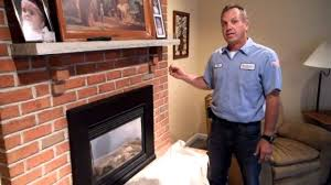 robert martin gas fireplace cleaning step 2 youtube
