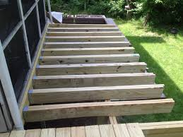 deck framing structural roof deck framing pic1 how to extend an