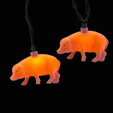 ten pink pig string lights 5w752 ls plus