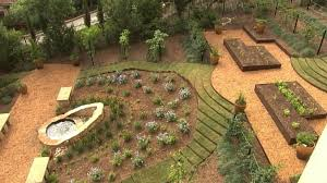 vegetable gardening on a slope hillside container gardening ideas