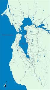 Bus Map San Francisco by San Francisco U2013 Hidden Hydrology