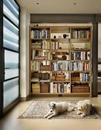 Bookcase With Frosted Glass Doors Glass Barrister Bookcases Entry Contemporary With Remodel Modern