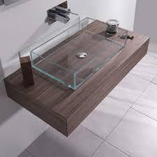 mensola lavabo da appoggio top h 15 cm per lavabi d appoggio con cassetto mobili da bagno