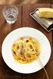 la vraie cuisine italienne pâtes à la carbonara la vraie recette italienne et trois secrets