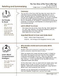 worksheet summarizing worksheets 3rd grade mifirental free