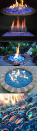 Fire Pit Lava Rock by Best 25 Fire Glass Ideas On Pinterest Firepit Glass Glass Fire