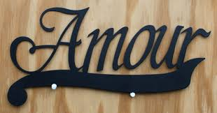 Love Home Decor Sign by Amour Tin Metal Sign Love Lover Home Kitchen Living Room Decor