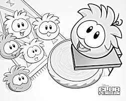 club penguin puffle coloring pages getcoloringpages com