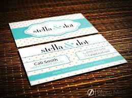 custom stella and dot business card design 1 stellaanddot