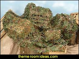Camo Netting Curtains Decorating Theme Bedrooms Maries Manor Army Theme Bedrooms