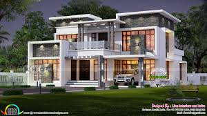 modern contemporary home 2620 sq ft kerala home design and floor