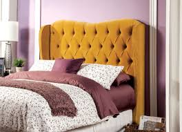 goldfabric tufted upholstered headboard caravana furniture