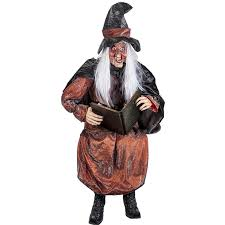 Halloween Witch Props Buy Life Size Storytelling Talking Witch Prop