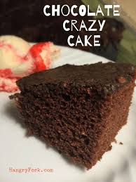 amazing chocolate crazy cake recipe no egg no milk hangry fork