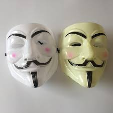 Anonymous Halloween Costume Vendetta Mask Guy Fawkes Anonymous Fancy Cosplay Costume